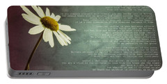 Desiderata With Daisy Portable Battery Charger