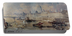 Design For The Thames Embankment Portable Battery Charger by Thomas Allom