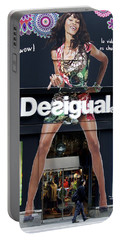 Desigual Storefront Portable Battery Charger