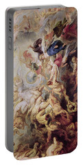 Detail Of The Last Judgement Portable Battery Charger