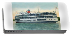 Detroit - Ss Sainte Claire - Boblo - Browning Steamship - 1938 Portable Battery Charger