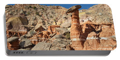 Devil's Tombstone In Palo Duro Canyon Portable Battery Charger