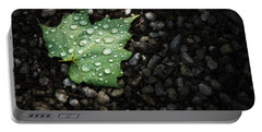 Dew On Leaf Portable Battery Charger