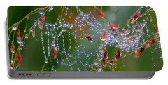 Portable Battery Charger featuring the photograph Dewdrop Inn by Dianne Cowen