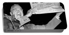 Dewey Defeats Truman Newspaper Portable Battery Charger
