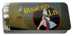 Diamond Lil B-24 Bomber Portable Battery Charger