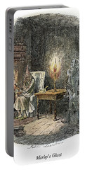 Dickens Christmas Carol, 1843 Portable Battery Charger