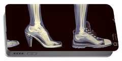 Different Shoes X-ray  Portable Battery Charger