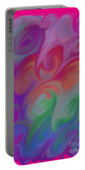 Digital Swirls Portable Battery Charger