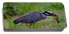 dinner Yellow-crowned Night Heron Portable Battery Charger