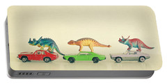 Dinosaurs Ride Cars Portable Battery Charger