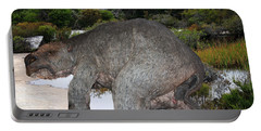 Portable Battery Charger featuring the photograph Diprotodon by Miroslava Jurcik