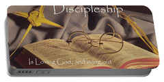 Discipleship Portable Battery Charger