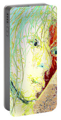 Disillusionment Portable Battery Charger by Jacqueline McReynolds