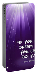 Disney's Dream It Portable Battery Charger