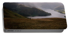 Distant Hills Cumbria Portable Battery Charger by John Williams