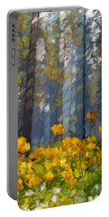 Distorted Dreams By Day Portable Battery Charger