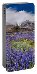 Division Creek Lupine Portable Battery Charger