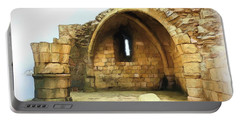 Portable Battery Charger featuring the photograph Do-00427 Citadel Of Sidon by Digital Oil