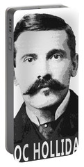 Doc Holliday Of The Old West Portable Battery Charger