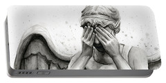 Doctor Who Weeping Angel Don't Blink Portable Battery Charger