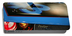 Portable Battery Charger featuring the photograph Dodge By Petty by Gordon Dean II
