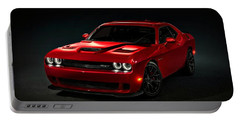 Dodge Challenger S R T Hellcat Portable Battery Charger