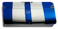 Dodge Viper Hood Emblem Portable Battery Charger by Jill Reger