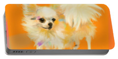 Dog Chihuahua Orange Portable Battery Charger