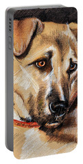 Dog Portrait Drawing Portable Battery Charger