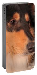 Dog Portrait Portable Battery Charger by Randi Grace Nilsberg