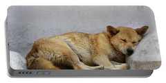 Dog Sleeping Portable Battery Charger