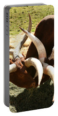 Doing The Watusi Portable Battery Charger by Carol Lynn Coronios