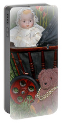 Doll And Teddy Portable Battery Charger