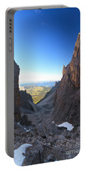 Portable Battery Charger featuring the photograph Dolomites At Morning by Antonio Scarpi