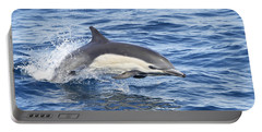 Dolphin At Play Portable Battery Charger by Shoal Hollingsworth