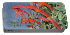 Portable Battery Charger featuring the photograph Dolphin Plant by Brenda Brown