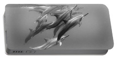 Dolphin Pod Portable Battery Charger by Sean Davey