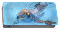Dolphin Swimming Portable Battery Charger