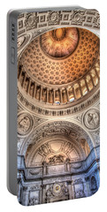 Domed Ornate Interior Portable Battery Charger