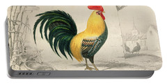Domestic Cock Portable Battery Charger by Edouard Travies