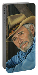 Don Williams Painting Portable Battery Charger