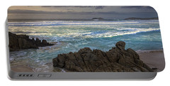 Portable Battery Charger featuring the photograph Doninos Beach Ferrol Galicia Spain by Pablo Avanzini
