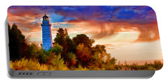Door County Cana Island Wisp Portable Battery Charger