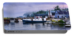 Door County Gills Rock Fishing Village Portable Battery Charger