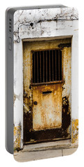 Door No 48 Portable Battery Charger by Marco Oliveira