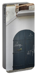 Door With Drawings Portable Battery Charger