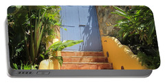 Portable Battery Charger featuring the photograph Doorway To Paradise by Fiona Kennard
