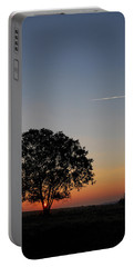 Portable Battery Charger featuring the photograph Dorset Dawn by Wendy Wilton