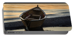 Dory At Dawn Portable Battery Charger by Marty Saccone